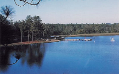 Lake at Bluff Springs Campground